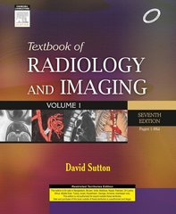 Textbook of Radiology and Imaging (2 vol set IND reprint) 7/e (Hardcover) by David Sutton