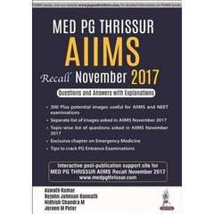 Med PG Thrissur AIIMS Recall November 2017