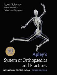APLEY'S SYSTEM OF ORTHOPAEDICS AND FRACTURES(ISE(ORG) 9/e, 2010 by SOLOMON
