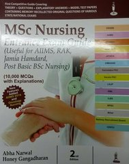 MSc Nursing Entrance Exam Guide 2nd Edition 2016 by Abha Narwal Honey Gangadharan