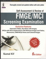 Self-Assessment & Review Of Fmge/Mci Screening Examination 6th Edition by Kamal KV
