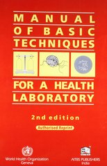Manual of Basic Techniques for a Health Laboratory 2nd edition