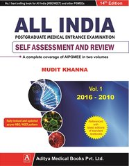 ALL INDIA PGMEE 14th Edition 2016 Volume 1 (2016-2010) by Mudit Khanna