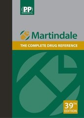 Martindale : The complete drug reference 39th edition 2017 (2 Volume set) by Alison Brayfield