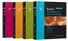 Rook's Textbook of Dermatology 9th Edition 2016 (4 Volume Set) Hardcover by Christopher Griffiths