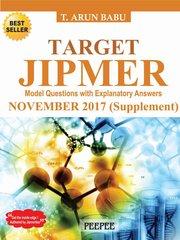 Target Jipmer November 2017 by T Arun Babu