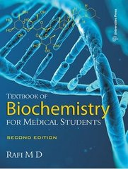 Textbook of Biochemistry for Medical Students (Paperback) by Mohammed Rafi