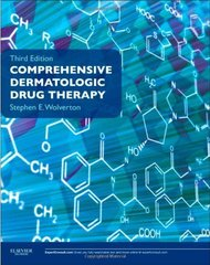 Comprehensive Dermatologic Drug Therapy, 3e (PB) By Wolverton