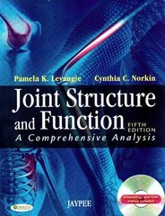 JOINT STRUCTURE AND FUNCTION 5th Edition 2012 by NORKIN
