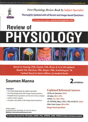 Review of PHYSIOLOGY 2nd Edition 2017 by Soumen Manna