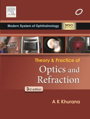 Theory and Practice of optics and refraction 3ED By AK Khurana