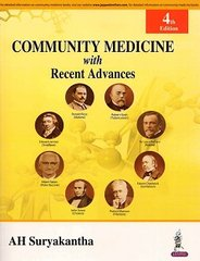 COMMUNITY MEDICINE with Recent Advances 4th Edition 2016 (Paperback) by AH Suryakantha