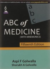 ABC of MEDICINE (With MNEMONICS) 5th Edition by Golwalla
