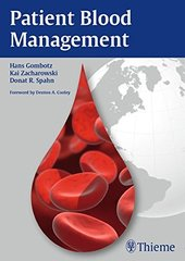 Patient Blood Management by Hans Gombotz