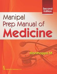 Manipal Prep Manual of Medicine 2nd Edition 2016 by Manthappa M