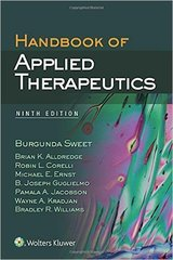 Handbook of applied Therapeutics, 9/e (Paperback) by Sweet