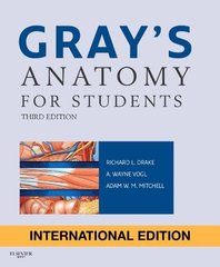 GRAYS Anatomy for Students 3rd Edition 2015 by Drake