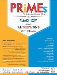 Primes – PG Review in Minimal Efforts (Volume-1: Basic Sciences) by VD Agrawal, Reetu Agrawal, Md Shakeel Sillat