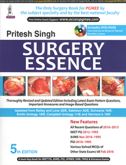 SURGERY ESSENCE 5th Edition 2017 by Pritesh Singh