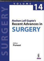 Roshan Lall Gupta's Recent Advances in Surgery Volume 14 (Paperback) by PUNEET