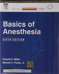 Basics Of Anesthesia (Paperback) by Miller