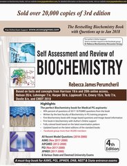 Self Assessment and Review of BIOCHEMISTRY 4th Edition 2018 by Rebecca James Perumcheril