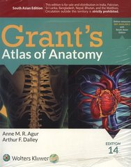 Grant's Atlas of Anatomy 14th Edition 2016 by Agur