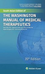 The Washington Manual of Medical Therapeutics 35th Edition by Pavan Bhat
