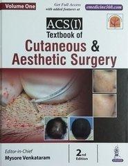 ACS(I) Textbook of Cutaneous & Aesthetic Surgery 2nd Edition 2017 by Mysore Venkataram