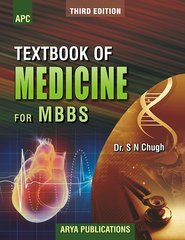 Textbook of Medicine for MBBS 3rd Edition 2015 by SN Chugh