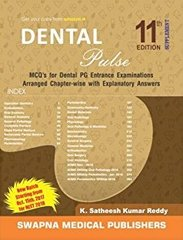 Dental Pulse 11th Edition 2017 Supplement by Santheesh Kumar Reddy