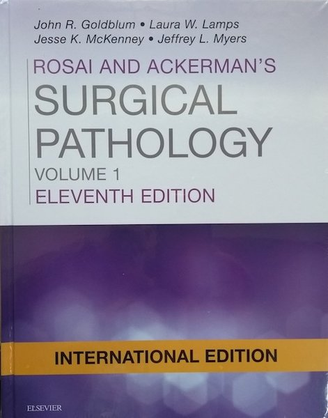 Rosai and Ackerman Surgical Pathology 11th Edition 2018 (2 Volume Set)