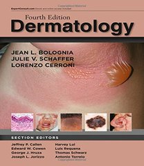 Dermatology 4th Edition 2018 (2 Volume Set) by Bolognia