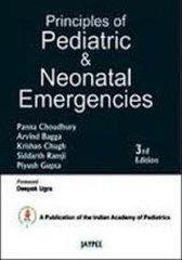 Principles of Pediatric and Neonatal Emergencies (Hardcover) by Panna Choudhury