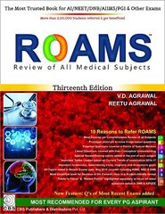 ROAMS : Review of All Medical Subjects 13th edition 2016 by Reetu Agrawal V.D. Agrawal
