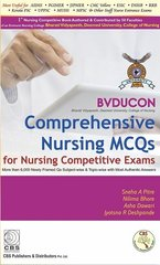 BVDUCON Comprehensive Nursing MCQs 2017 for Nursing Competitive Exams