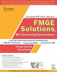 FMGE Solutions for MCI Screening Examination 3rd Edition 2017 by Deepak Marwah / Siraj Ahmad