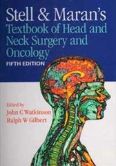 Stell & Maran's Textbook of Head and Neck Surgery and Oncology 5th edition 2012 (Hardcover) by WATKINSON