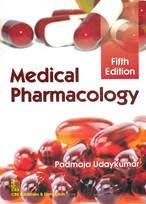 Medical Pharmacology 5th Edition 2016 by Padmaja Udaykumar
