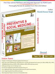 Complete Review of Preventive & Social Medicine 2nd edition 2016 by Manish Kumar Singh