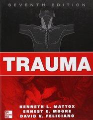 Trauma 7th Edition 2012 by Kenneth L. Mattox