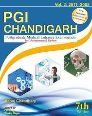 PGI CHANDIGARH, 7th Edition, (2011-2005) Volume 2 by Manoj Chaudhary