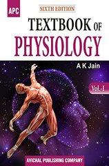 Textbook of Physiology (2 Volume Set) 6th edition by AK Jain