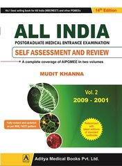 ALL INDIA PGMEE 14th Edition 2016 Volume 2 (2009-2001) by Mudit Khanna