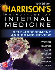 Harrison's Principles of INTERNAL MEDICINE : Self Assessment and Board Review 19th edition 2017 by Wiener