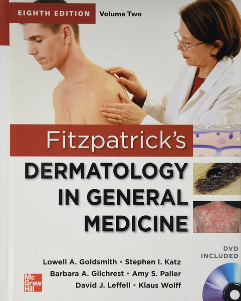 FITZPATRICK'S DERMATOLOGY (2 Volume Set) IN GENERAL MEDICINE WITH DVD 8/e, 2012