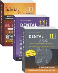 Dental Pulse 11th Edition 2017 ( 3 Volume set) by Satheesh Kumar Reddy