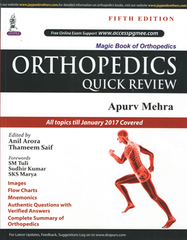 Orthopedics Quick Review 5th Edition 2017 by Apurv Mehra