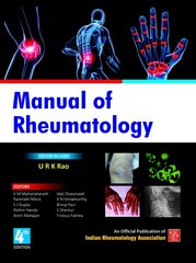 Manual of Rheumatology 4th Edition 2014 by URK Rao