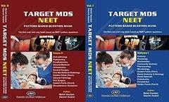 TARGET MDS NEET Pattern Question Bank 2 vol set Paperback 2017 by Gaurav Anand Mohit Gautam